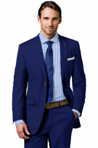 Royal Blue Custom Suit