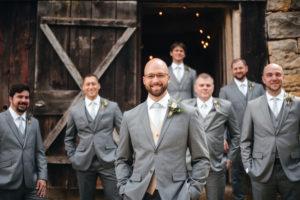 Custom made wedding suits